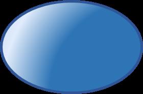 3d geometric shapes ellipsoid