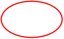 list of geoemtric shapes ellipse