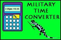 Military Time Calculator Measures Salamander