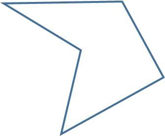 concave pentagon