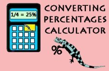 Convert Percent to Fraction Image