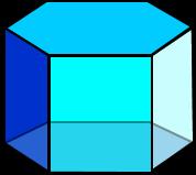 3d hexagonal prism image