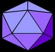3d icosahedron image