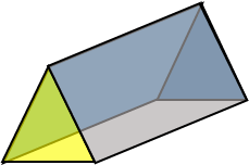 3d triangular prism image