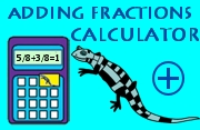 Adding Fractions Calculator image
