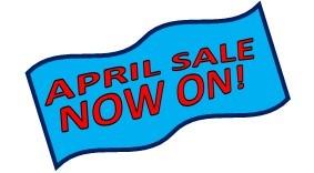april sale image