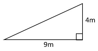 area of right triangle example 2