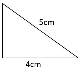 area of right triangle example 4