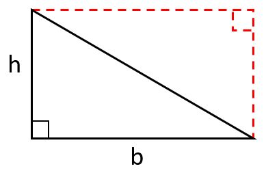 area of right triangle image 1