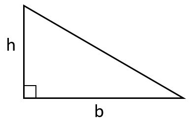 area of right triangle image 2