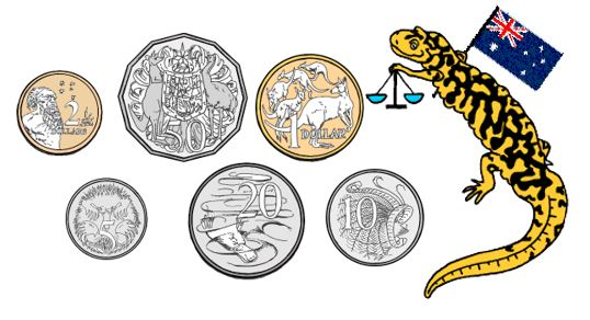 Australian Money Worksheets Measures Salamander Tyger