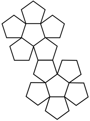 dodecahedron net image
