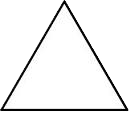 geometric shapes equilateral triangle