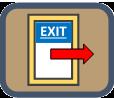 exit icon image