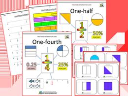 Fraction Printables image