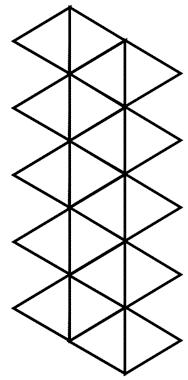 icosahedron net image