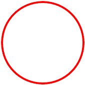 list of geoemtric shapes circle