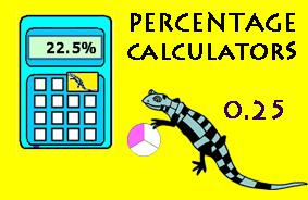 Percentage difference calculator.