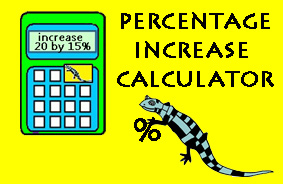 Percentage Increase Calculator image