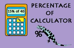 Percentage of Calculator image