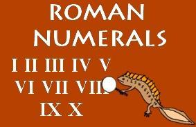 Roman Numerals List image