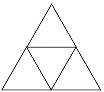 tetrahedron net image