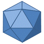 printable 3d shapes icosahedron
