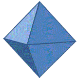 3 d shapes octahedron