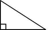 right triangle or right angled triangle
